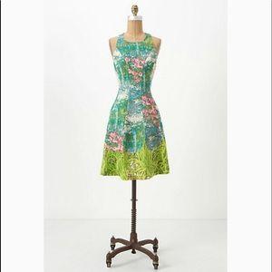 Anthropologie Tracy Reece Impressionist dress